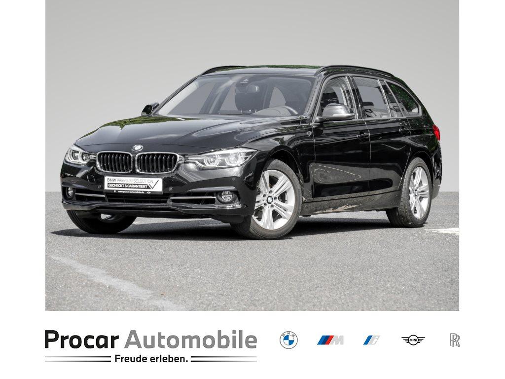 BMW 318i SPORT LINE+HIFI+LED+WLAN+NAVI PROF.+SITZHEIZUNG+, Jahr 2019, Benzin