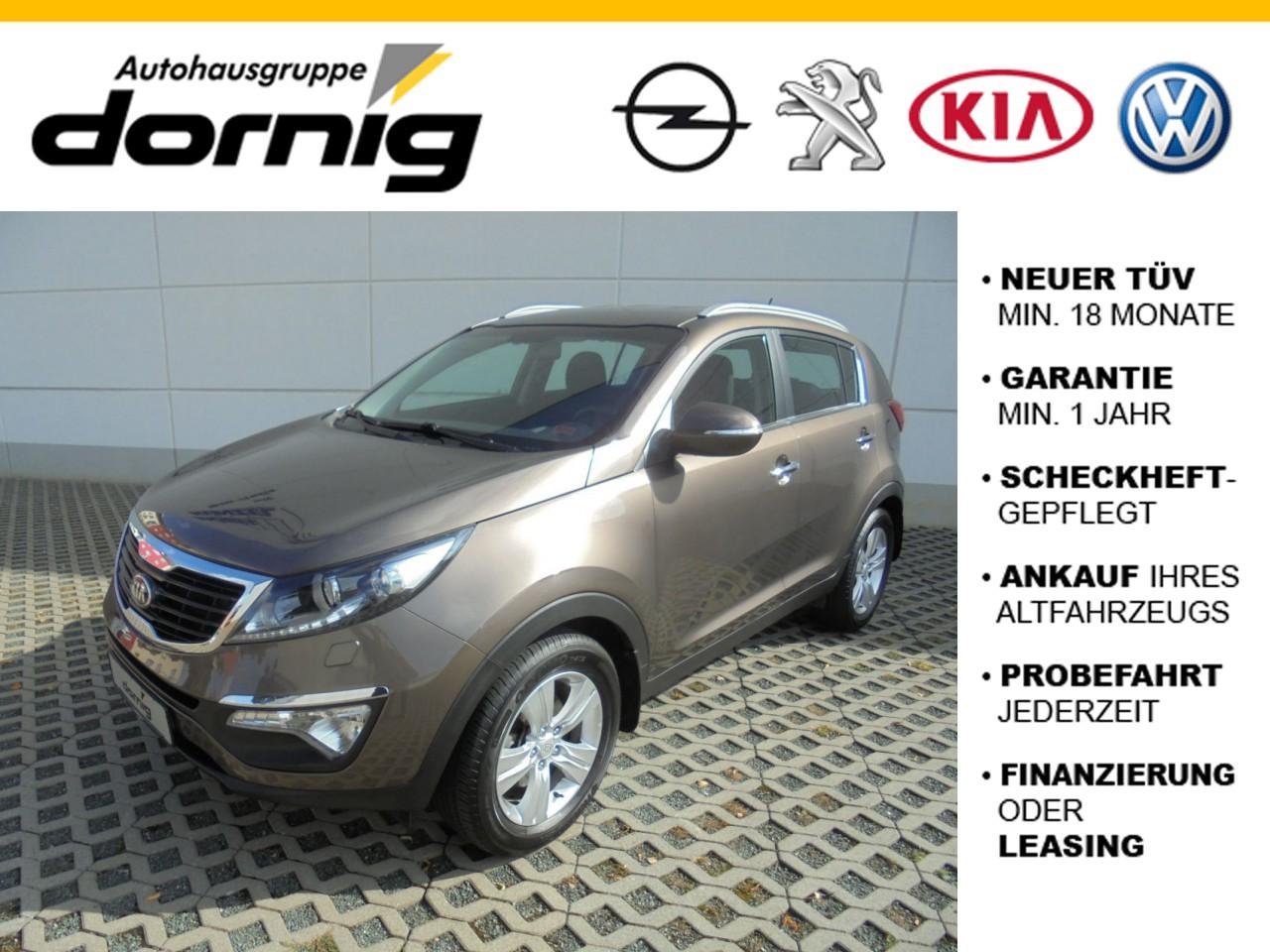 Kia Sportage 1.6 GDI Vision, Sitzh.,Xenon, Jahr 2013, Benzin