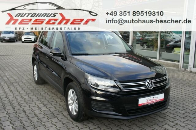 Volkswagen Tiguan Trend & Fun 1,4 TSI *NAVI*PDC*SHZ*, Jahr 2014, Benzin