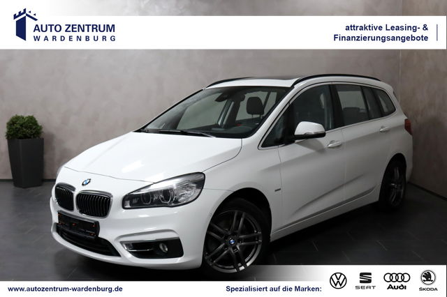 BMW 218 Gran Tourer i Luxury Aut. Line 7-Sitzer LED, Jahr 2017, Benzin