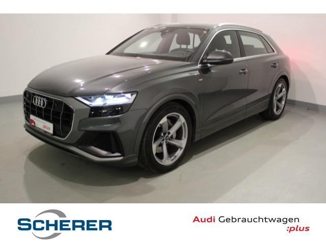 Audi Q8 50 TDI qut*S line Exert*Kamera*Stdhzg*B&O*21*LED*, Jahr 2019, Diesel