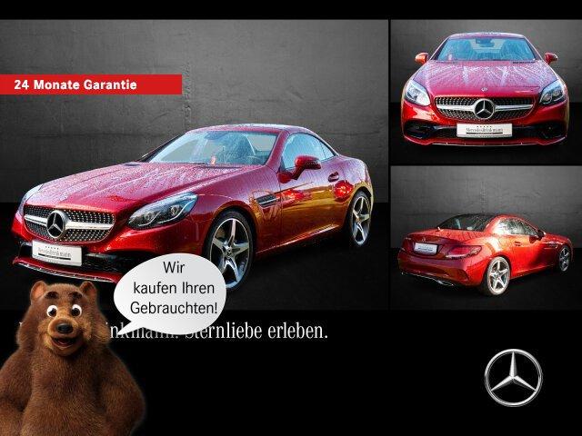 Mercedes-Benz SLC 180 AMG Line/Panorama/SHZ/Parktronic/Kamera, Jahr 2018, Benzin
