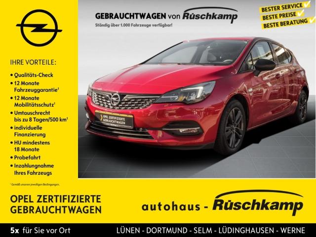 Opel Astra K 2020 Start Stop 1.2 Turbo EU6d, Jahr 2020, Benzin