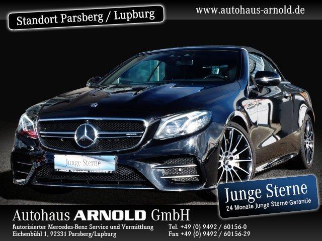 Mercedes-Benz Mercedes-AMG E 53 4M+ Cabrio Memory HeadUp Distr, Jahr 2018, Benzin