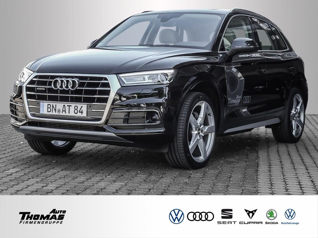 "Audi Q5 ""Design"" 2.0 TFSI quattro S tronic XENON+ACC, Jahr 2018, petrol"
