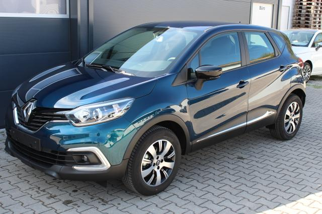 Renault Captur Limited 0,9 TCe 90 PS Sie sparen 7.575..., Jahr 2018, Benzin