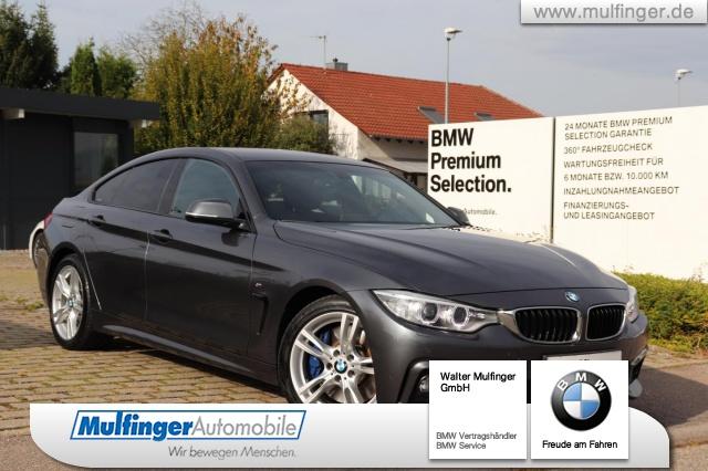 BMW 440i GranCoupe M Sport Ad-Fahrw.Kamera NaviProf, Jahr 2016, petrol