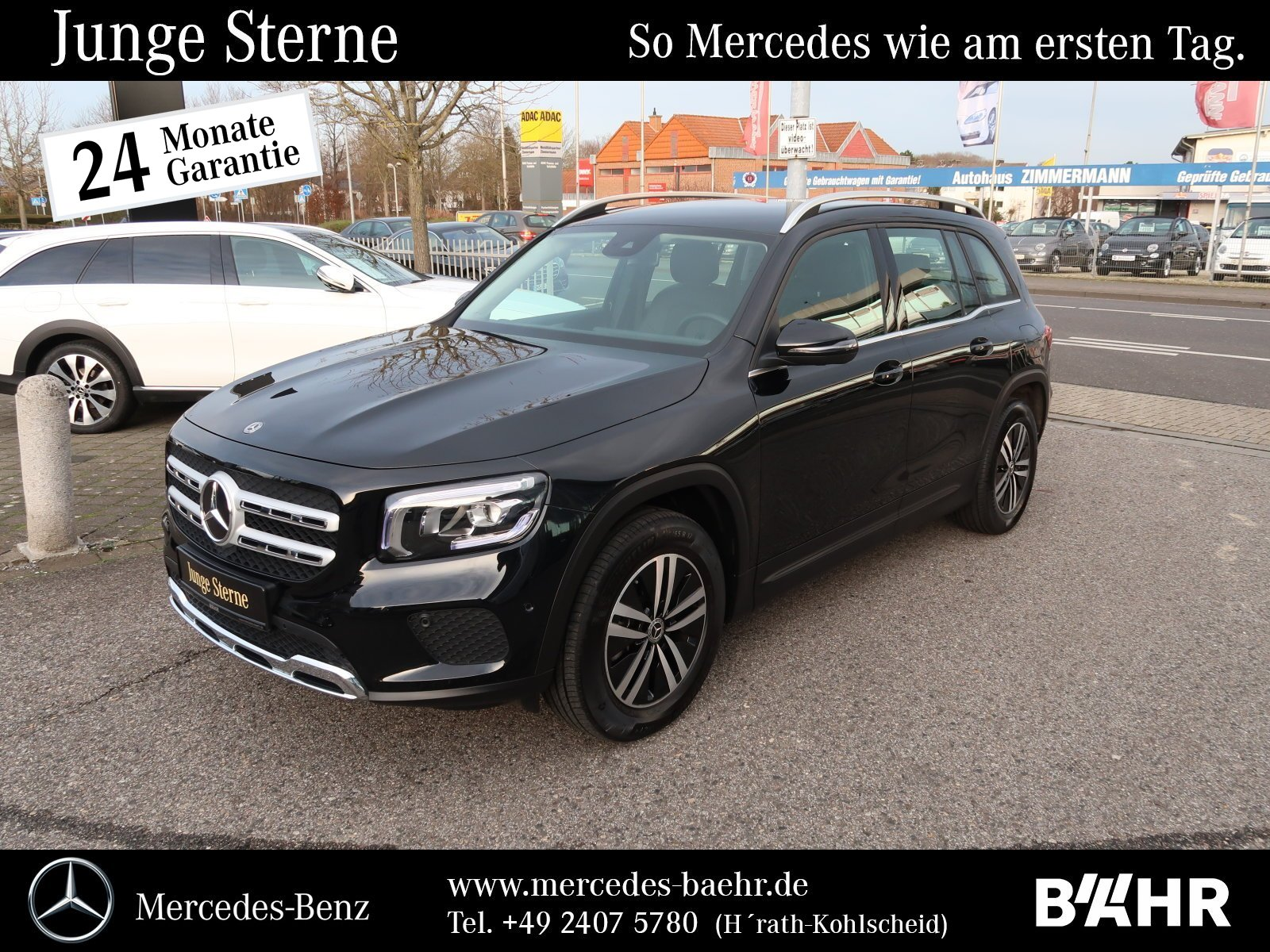 Mercedes-Benz GLB 180 d Style/MBUX-Navi/LED-High/SHZ/Park+RFK, Jahr 2019, Diesel