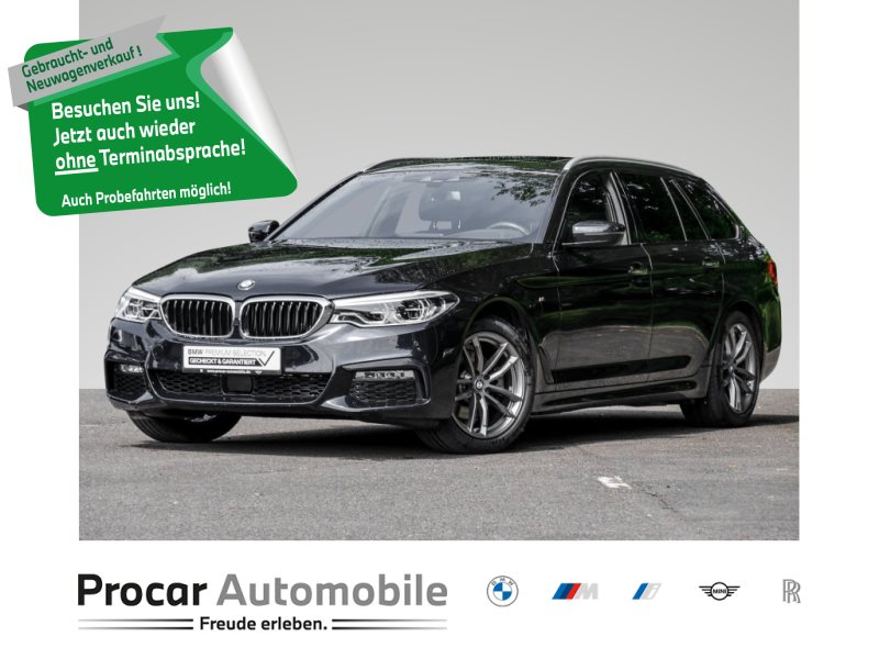 BMW 520d xDrive MSPORT+NAVI+DRIVING-ASSIST-PLUS+PANO+LED++, Jahr 2018, Diesel