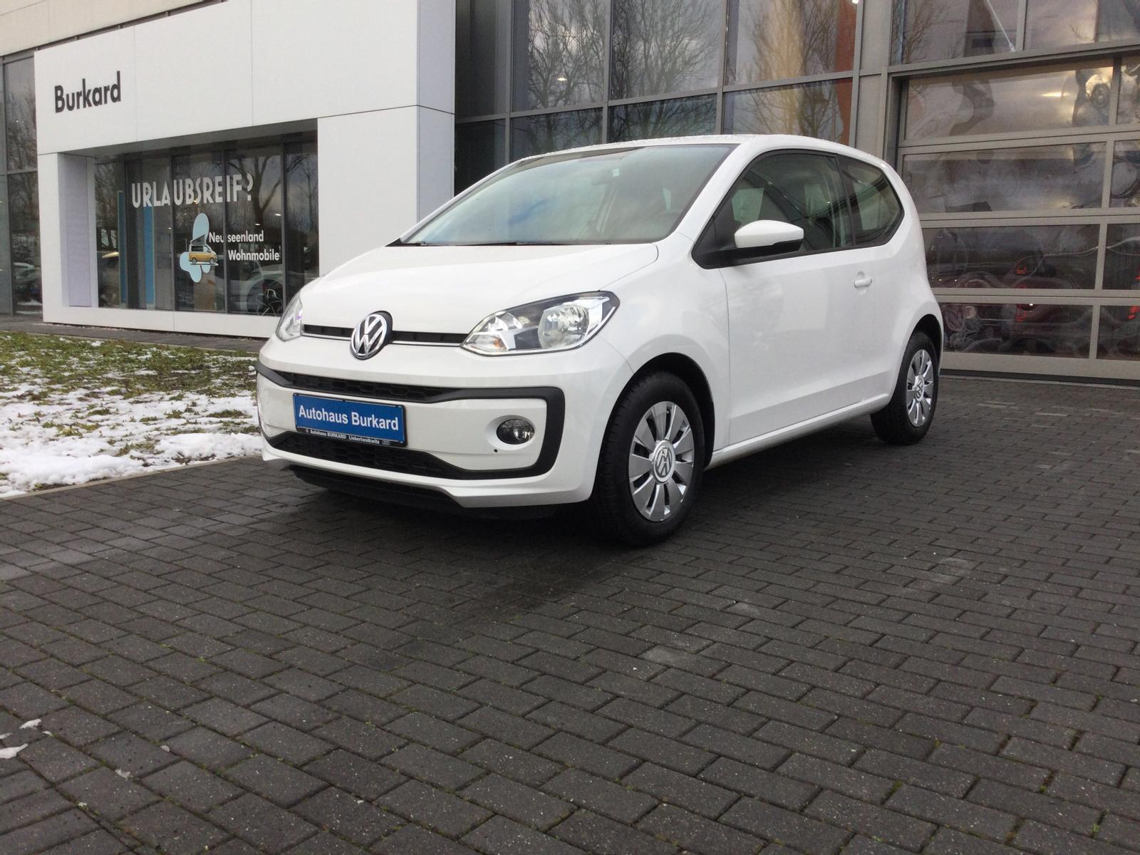 Volkswagen Move up! 1,0 l 60 PS | Klima, Jahr 2019, Benzin