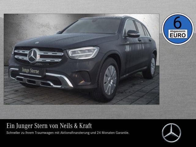 Mercedes-Benz GLC 200 4M NEUES MODELL+EXCLUS+MBUX+LED+WENIG KM, Jahr 2019, petrol
