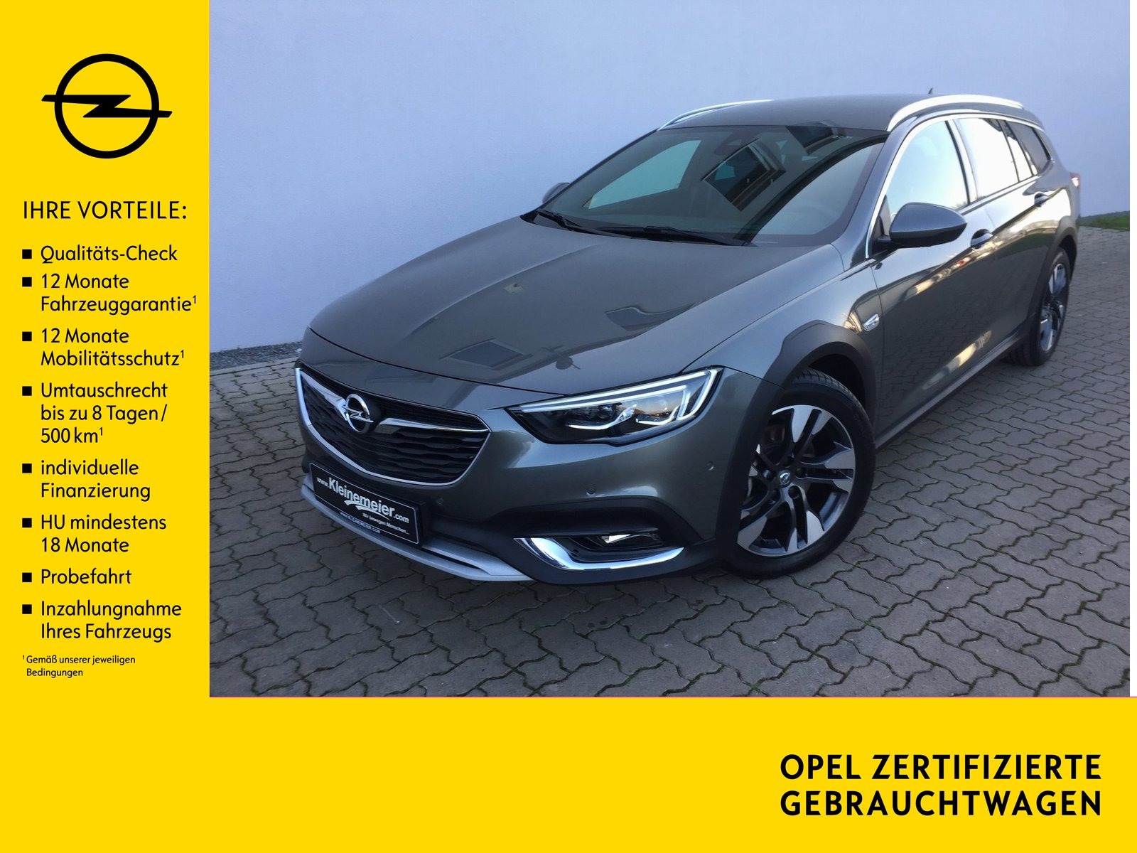 Opel Insignia CT Exclusive*Leder*Navi*SZH*LED*Techno*, Jahr 2018, Benzin