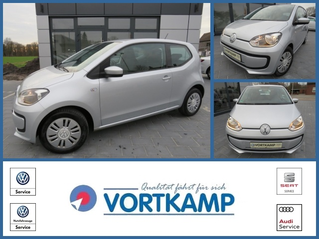 Volkswagen up! move up! eco BMT CNG ERDGAS + BENZINER, Jahr 2014, Gas