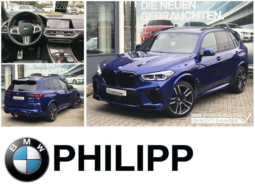 BMW X5 M Laser Pano h&k AHK DAB WLAN PA+ DAP, Jahr 2021, Benzin