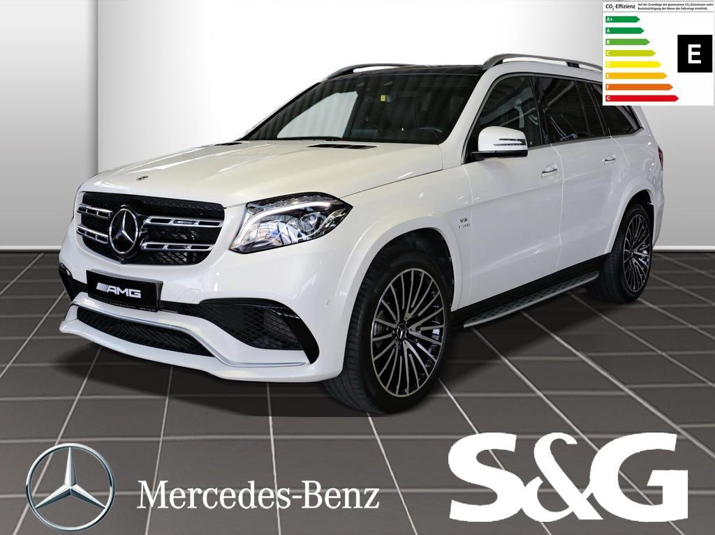Mercedes-Benz GLS 63 AMG 4M Dsitronic/PanoDach/LED/360°Ka/Navi, Jahr 2018, Benzin
