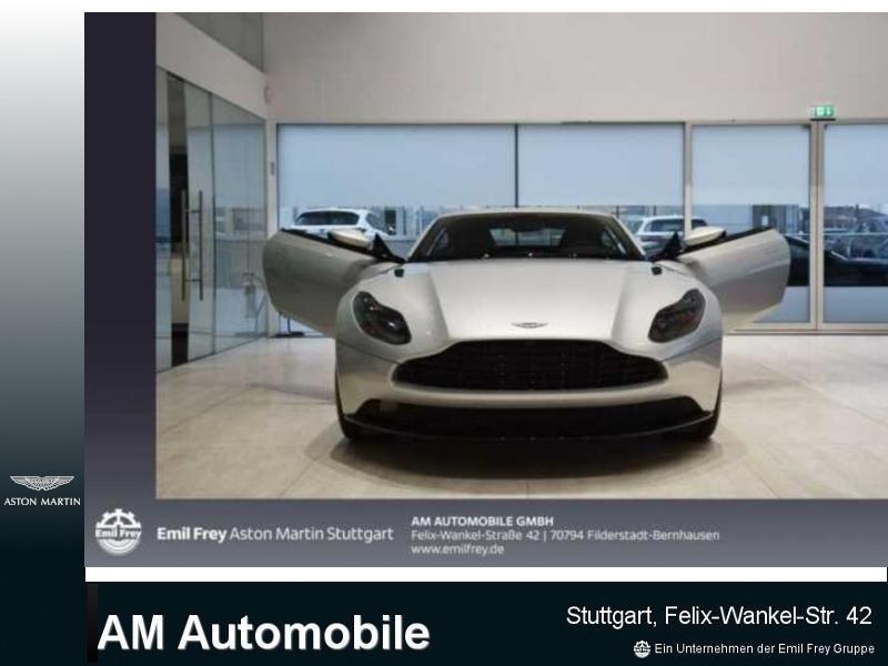 Aston Martin DB11 V8 Coupe, Jahr 2019, petrol