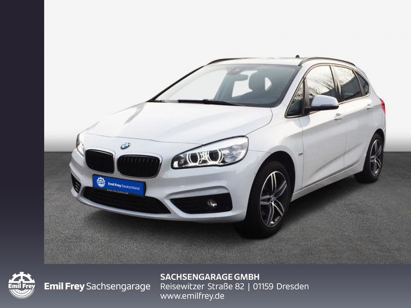 BMW 218d Active Tourer Aut. Sport Line AHZV Navi PDC, Jahr 2016, Diesel
