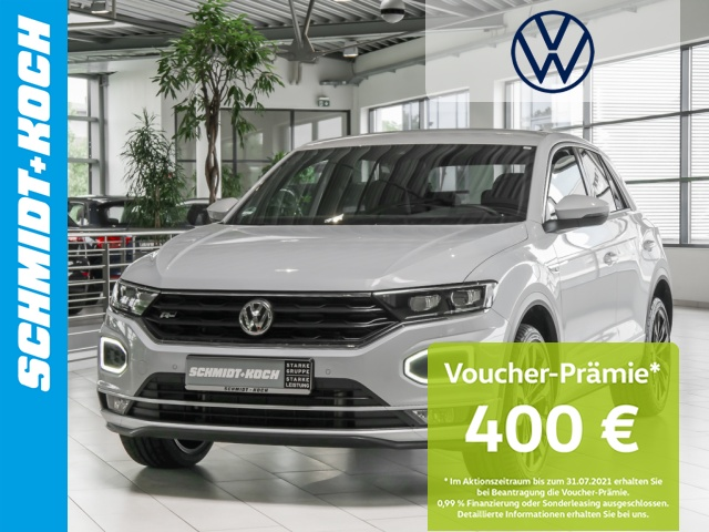 Volkswagen T-Roc 1.5 TSI Sport R-Line ACC NAVI SZHG LED KLIMA, Jahr 2020, Benzin