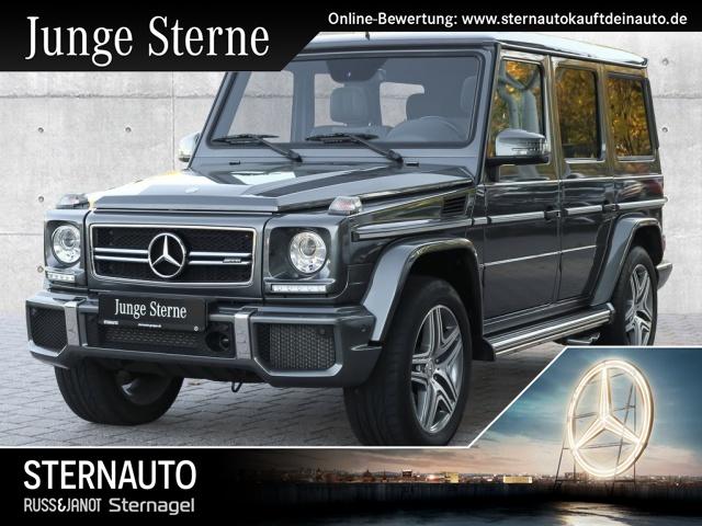 Mercedes-Benz G 63 AMG Designo DISTR.DAB Standhz.SD AHK RÃKa, Jahr 2017, petrol