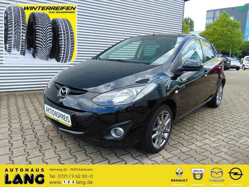 Mazda 2 1.3 Kenko Klima Einparkhilfe Sitzheizung, Jahr 2014, Benzin