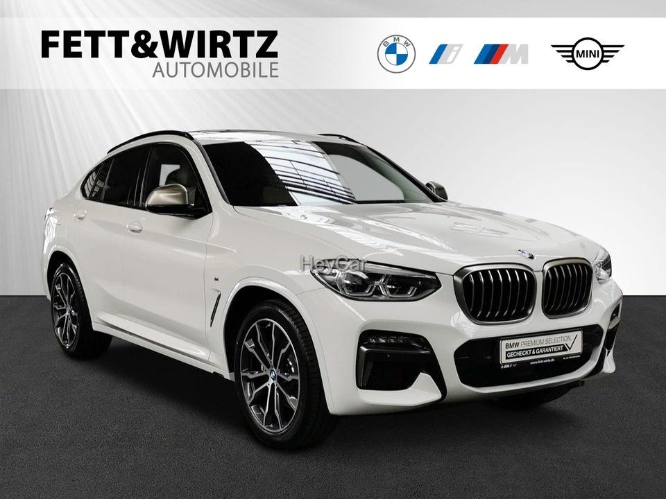 BMW X4 M40i Pano 20'' HUD Stoß&Go AHK, Jahr 2020, Benzin