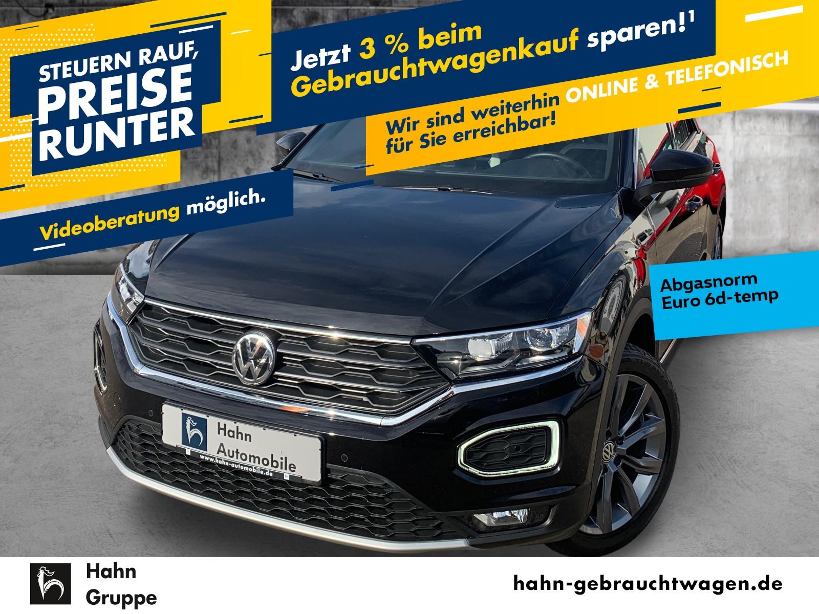 Volkswagen T-ROC Sport 1.5TSI ACC Navi LED Sitzh Einpark, Jahr 2019, Benzin