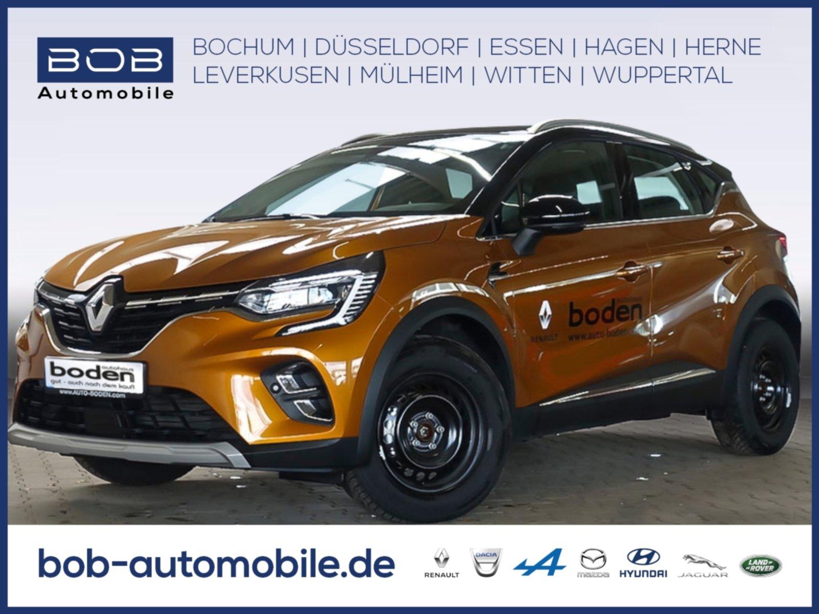 Renault Captur INTENS TCe 100 NAVI SHZ PDC KLIMA, Jahr 2019, Benzin