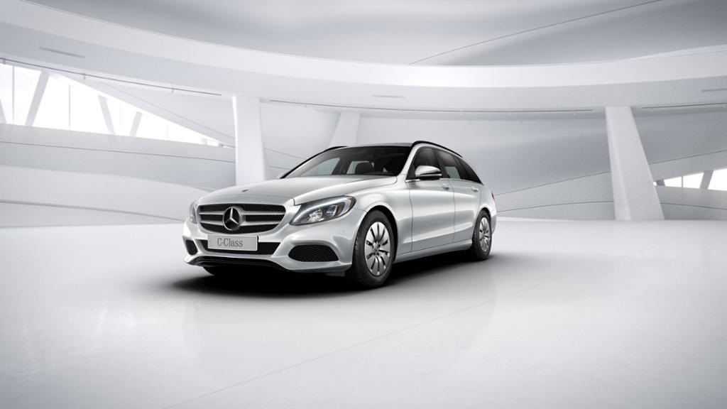 Mercedes-Benz C 200 d T-Modell LED/Navi/PDC, Jahr 2017, Diesel