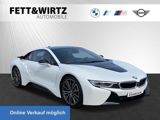BMW i8 Coupe Laser HUD H/K 20'' Leas ab 858,- br.o.A., Jahr 2020, Hybrid