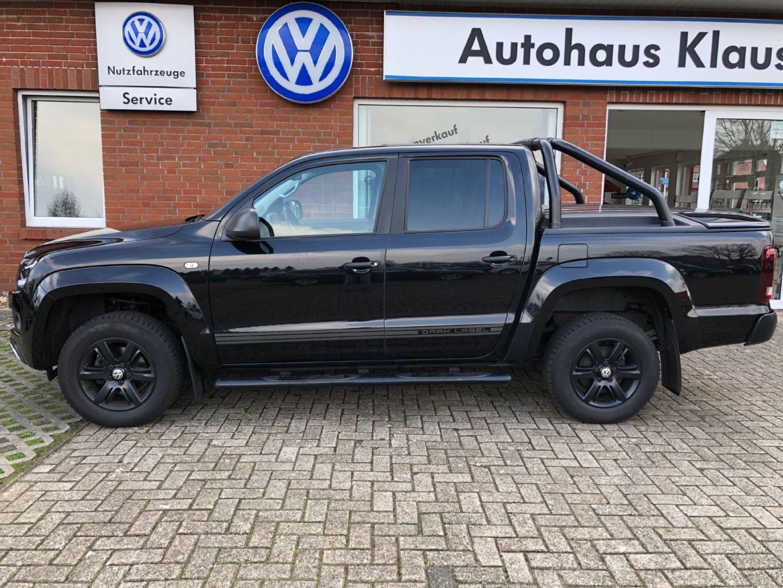 """Volkswagen Amarok DoubleCab Trendline DC """"Dark Label"""" Motor, Jahr 2014, diesel"""