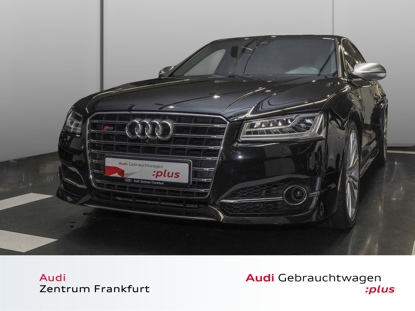 Audi S8 4.0 TFSI quattro tiptronic Navi Glasdach Matr, Jahr 2017, petrol