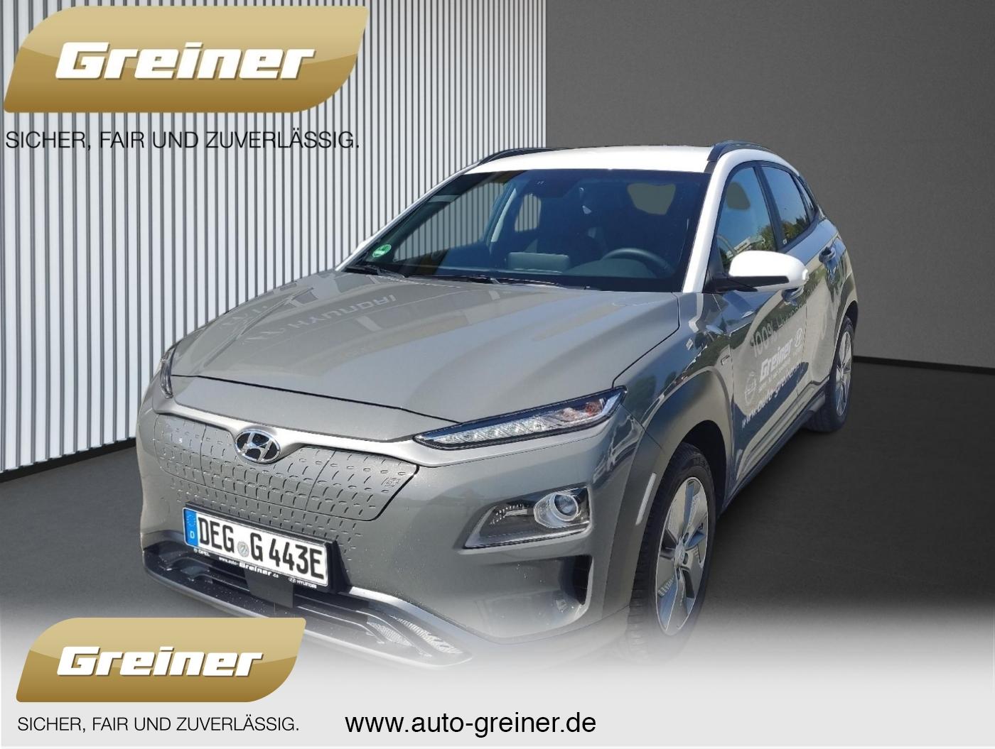 Hyundai Kona Elektro Style KAMERA DAB KLIMA LED SHZ LRHZ, Jahr 2020, Elektro