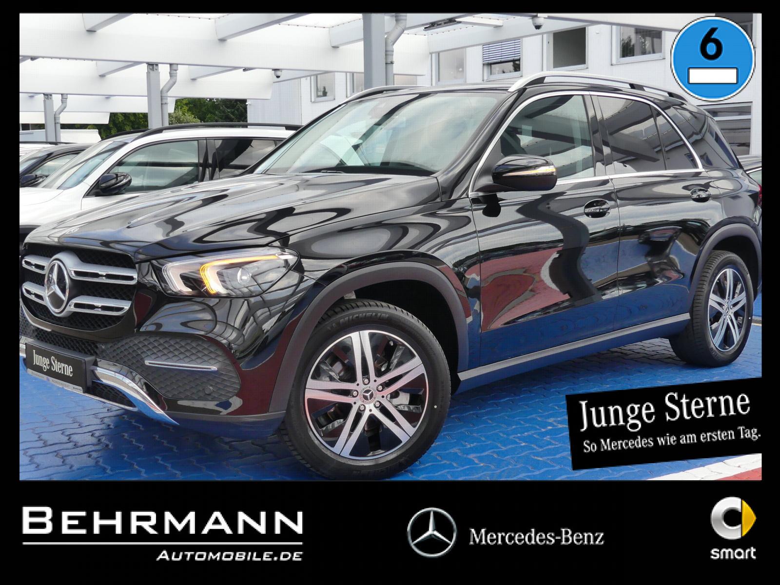 Mercedes-Benz GLE 300d 4M Exclusive StdHzg.+7-Stizer+Burmester, Jahr 2019, Diesel