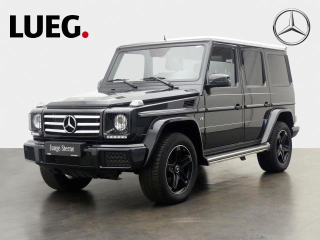 Mercedes-Benz G 500 SHD+Standhzg+Xenon+Kamera, Jahr 2018, petrol