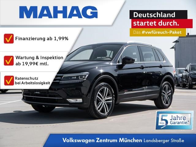 Volkswagen Tiguan Highline 2.0 TDI BMT 4Motion DSG - NAVI / LED / Active Info Display / 3- Zonen Klima / Rear View / Park Assist / Panoramadach Tiguan 2.0 HLBMT4M 110TDID7A, Jahr 2016, Diesel