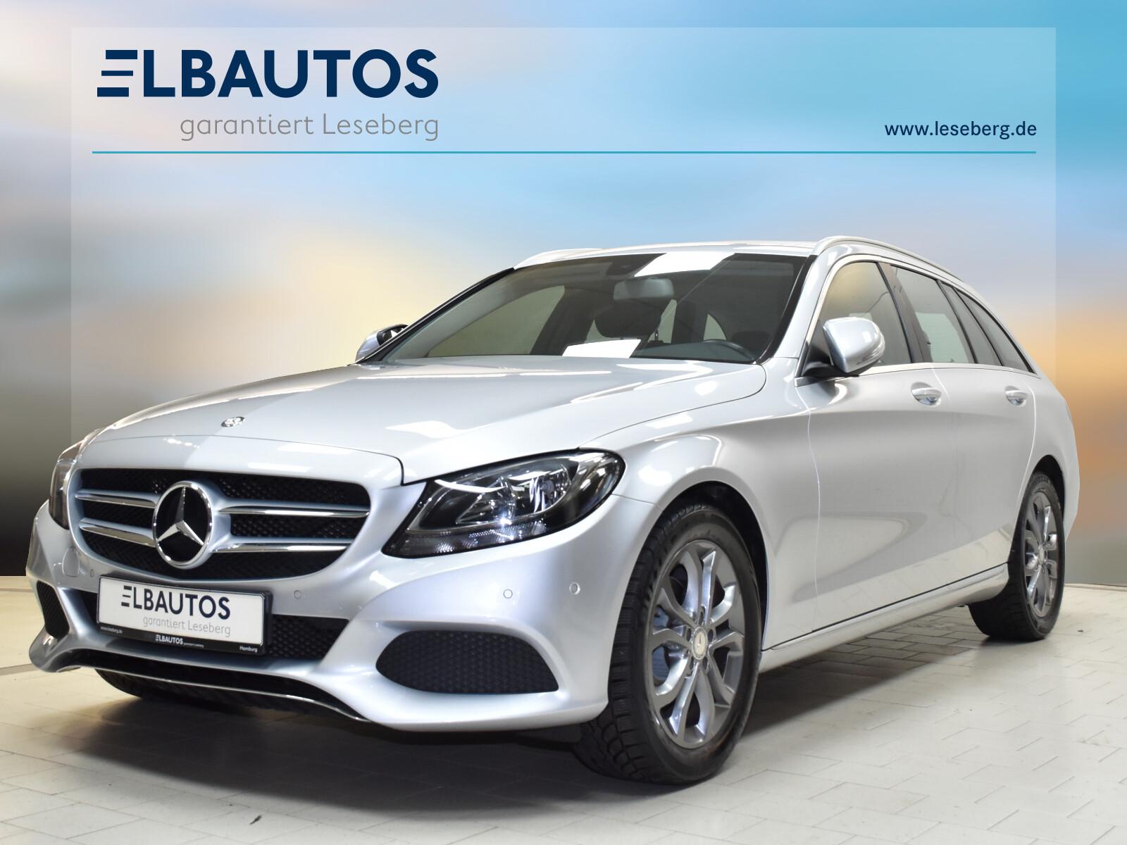 Mercedes-Benz C 180 T Avantgarde/6-Gang/Navi/EPH/SHZ/Tempomat, Jahr 2014, Benzin