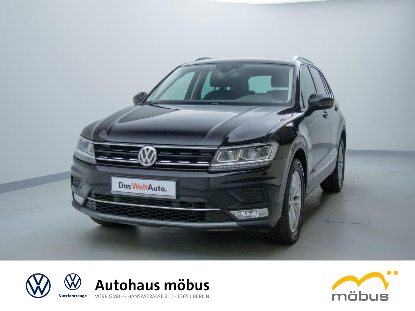 Volkswagen Tiguan 2.0 TDI DSG*HIGHL*4MOT*LED*AHK*AID*NAVI**, Jahr 2017, Diesel