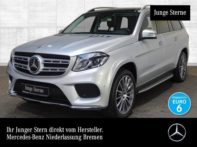 Mercedes-Benz GLS 500 4M AMG 360° Airmat Stdhzg Pano Harman 9G, Jahr 2018, petrol
