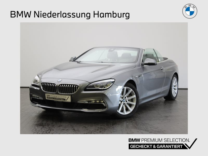 BMW 650i xDrive Cabrio Head-Up HiFi Surroundview, Jahr 2017, Benzin