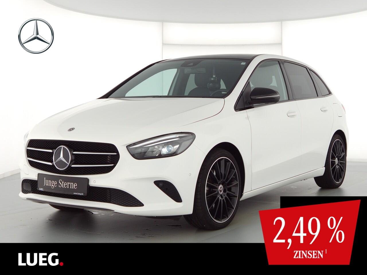 Mercedes-Benz B 220 4M Progressive+MBUX+NavPr+Pano+LED+AHK+RFK, Jahr 2019, Benzin