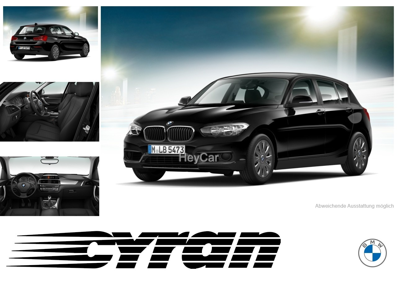 BMW 116d Black-Line (Bluetooth Navi Klima DPF), Jahr 2018, Diesel