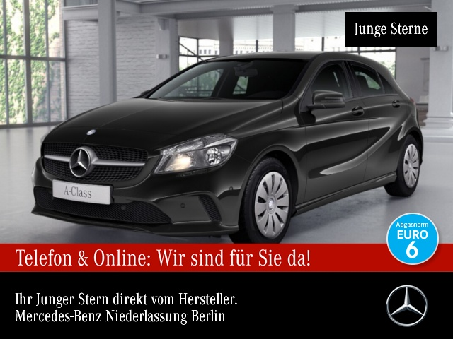 Mercedes-Benz A 160 Navi Totwinkel PTS Sitzh Sitzkomfort, Jahr 2015, Benzin