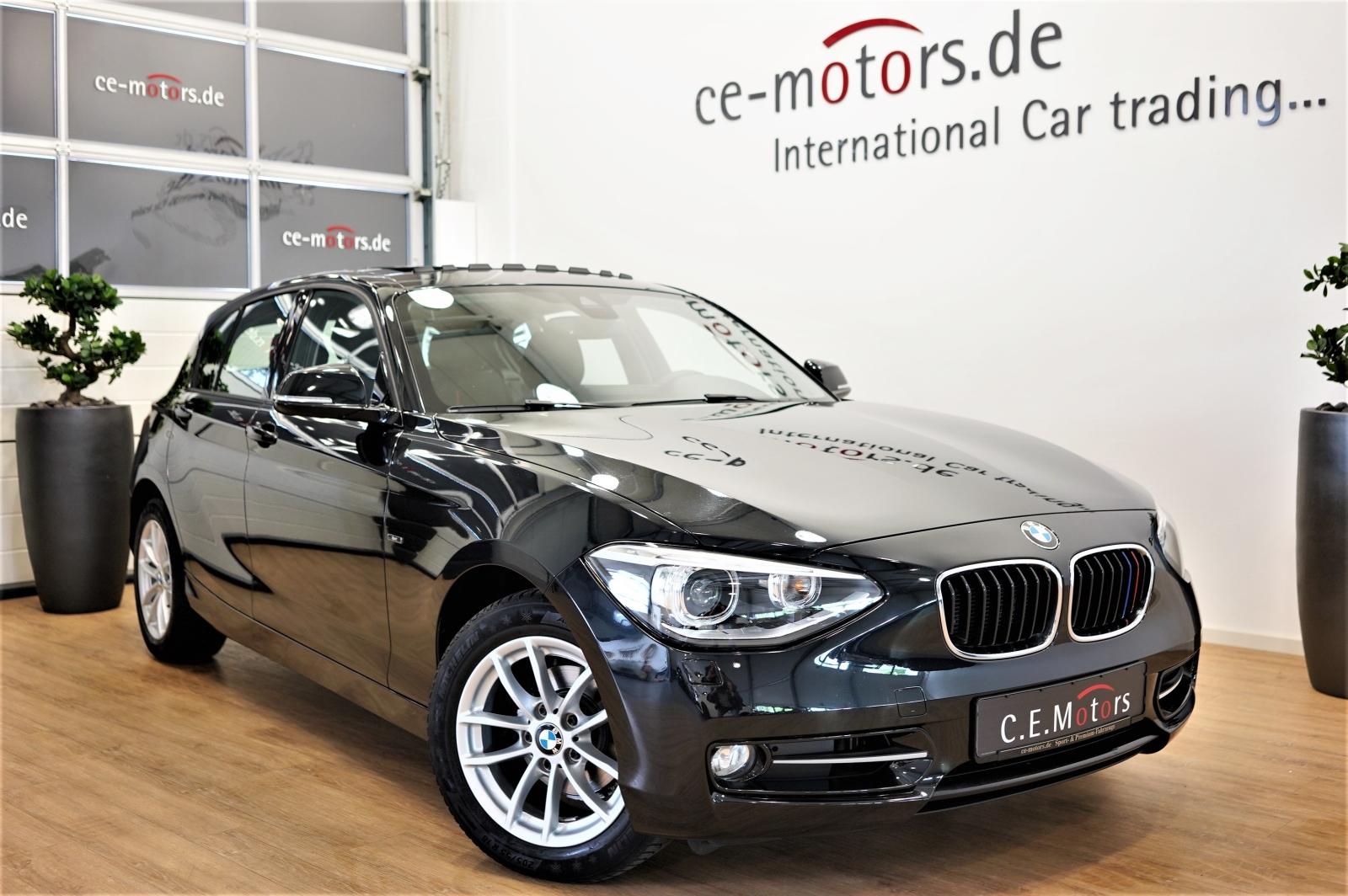 BMW 116d SPORT-LINE*Bi-Xenon*Navi-Prof.*SCHIEBEDACH*, Jahr 2013, Diesel