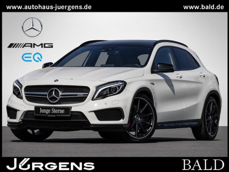 Mercedes-Benz GLA 45 AMG 4M Performance/Comand/ILS/Pano/Cam/20, Jahr 2015, Benzin