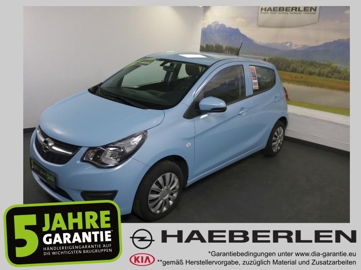 Opel Karl 1.0 Edition *Sitzheiz.+Lenkradheiz.*, Jahr 2015, Benzin