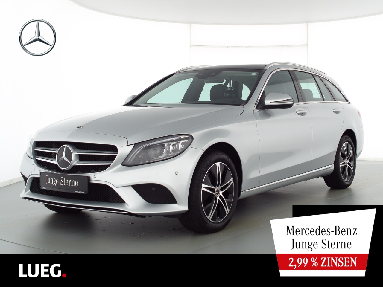 Mercedes-Benz C 220 d T 4M Avantgarde+COM+Pano+Mbeam+AHK+SpurP, Jahr 2020, Diesel