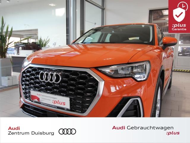 Audi Q3 Sportback 35 S-line Navi PDC SHZ WR, Jahr 2020, Benzin