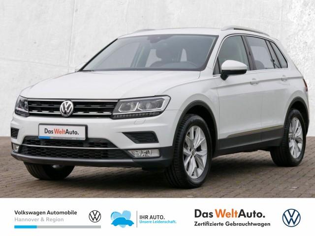 Volkswagen Tiguan 2.0 TSI DSG 4Motion Highline Leder LED Klima ACC PDC, Jahr 2016, Benzin
