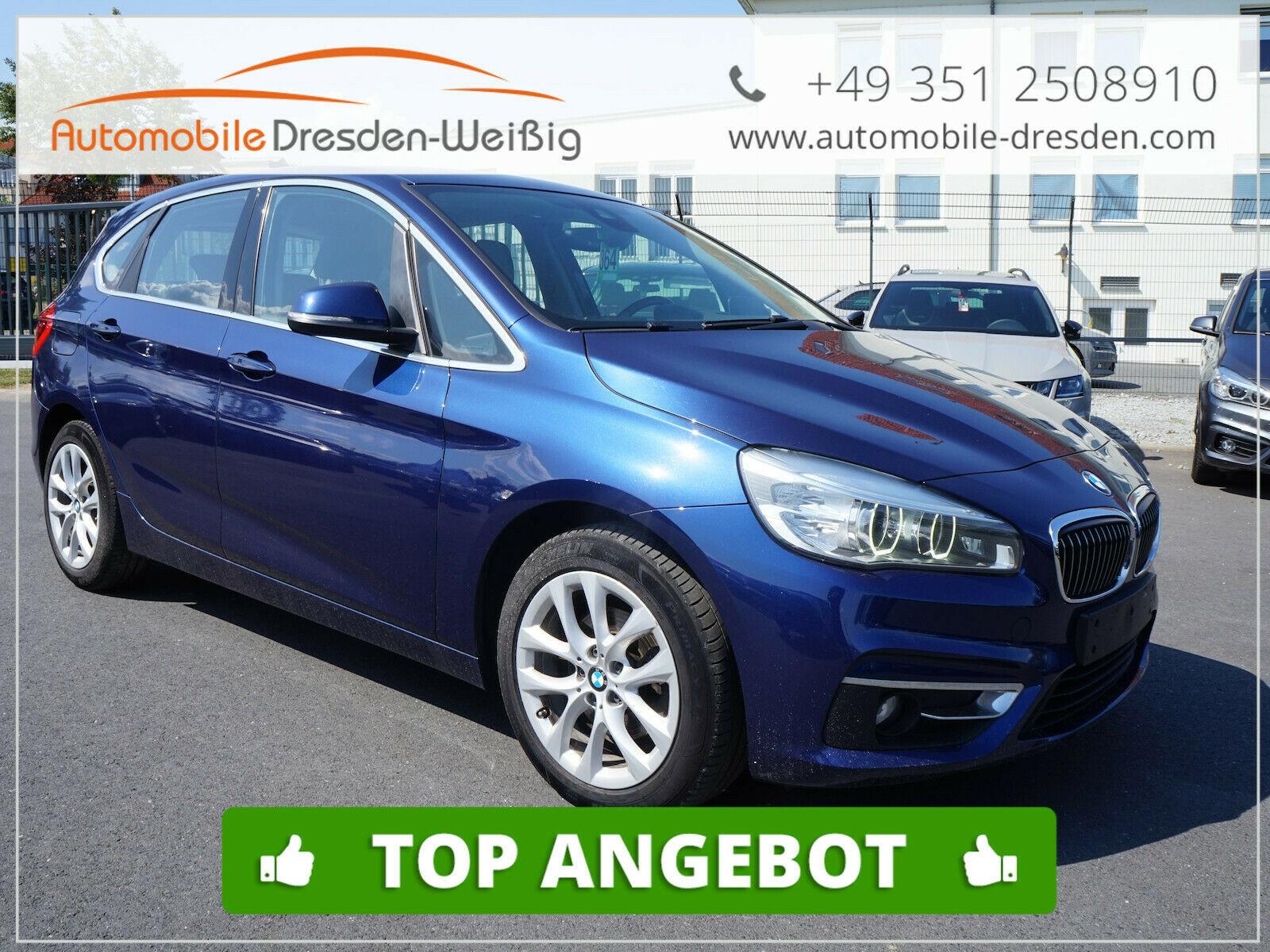 BMW 218 Active Tourer LuxuryLine*Leder*Navi+*LED, Jahr 2015, Diesel