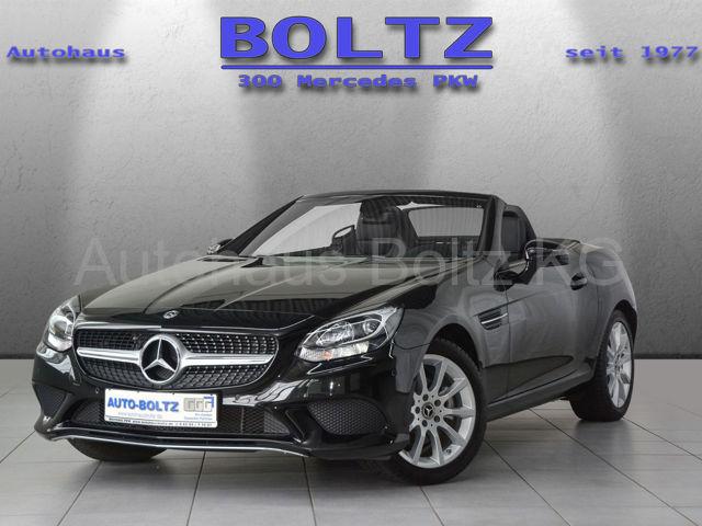 Mercedes-Benz SLC 180 PTS Klima LMF SHZ, Jahr 2017, Benzin